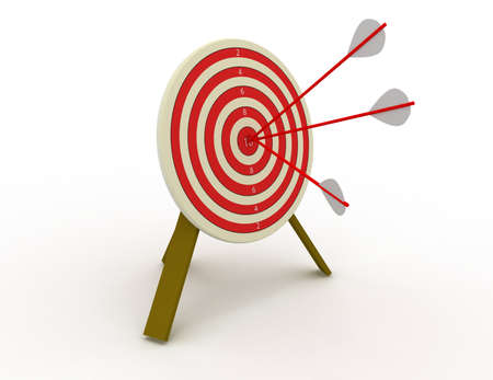 target concept Stock Photo