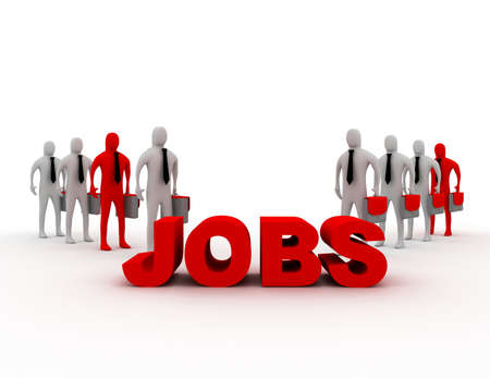 job concept 版權商用圖片
