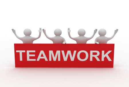 business teamwork concpet Standard-Bild