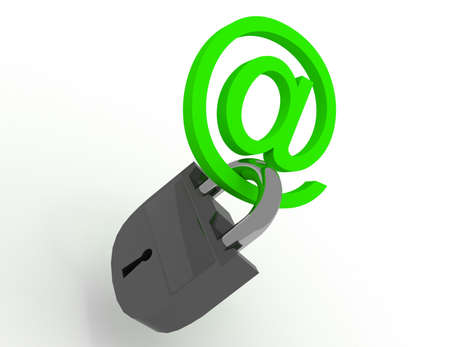 symbol internet with keys 免版税图像
