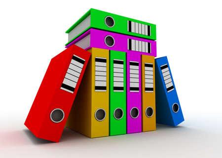 folder concept Stock Photo
