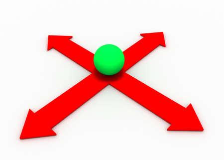 business decision concept