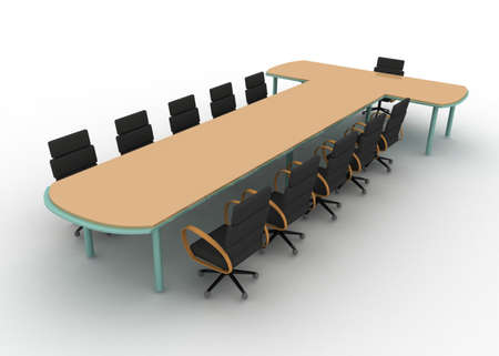 business table concept Stock Photo