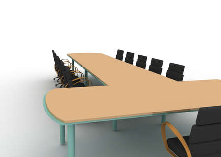 business table concept