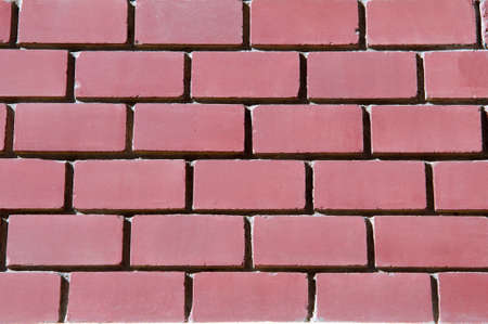 largely: a brick structure Stock Photo