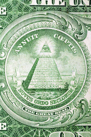 pecuniary: Masonic symbol for One US dollar 1935th