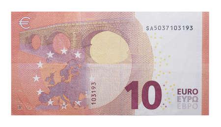 Nouveaux billets de banque 10 Euro