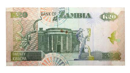 zambian: 20 Zambian kwacha Stock Photo