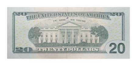 Nuevo billete de banco de 20 dólares de los EE.UU.