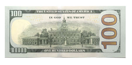 singly: New 100 U.S. dollar banknote