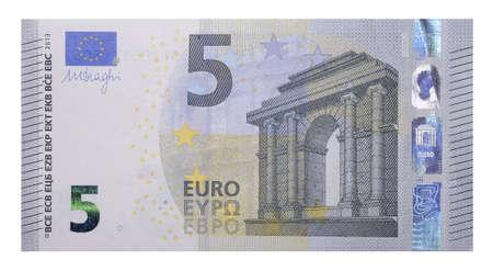 Nouveaux billets de banque 5 Euro