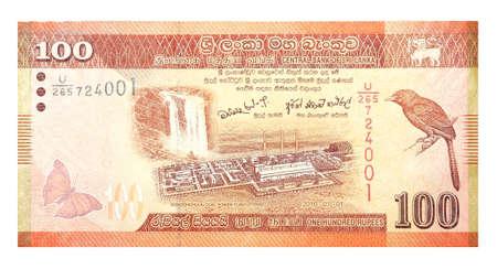 sri lankan: Banknotes 100 Sri Lankan Rupees