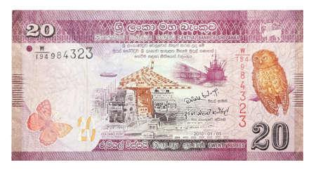 rupees: Banknotes  Sri Lankan Rupees