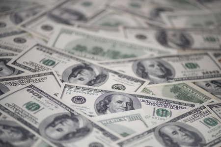 100米ドル紙幣(古いサンプル) 写真素材