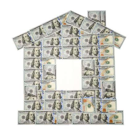 100米ドル紙幣の家(新しいサンプル)