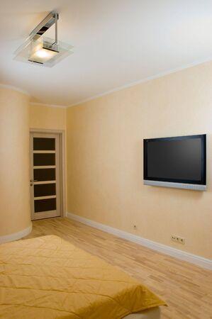 spaciousness: Lighting bedroom Stock Photo