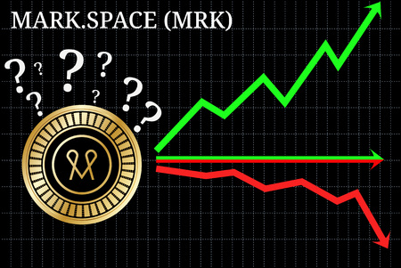 Possible graphs of forecast MARK SPACE (MRK) - up, down or horizontally. MARK SPACE (MRK) chart.