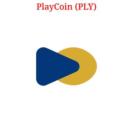 PlayCoin (PLY) cryptocurrency Illustration