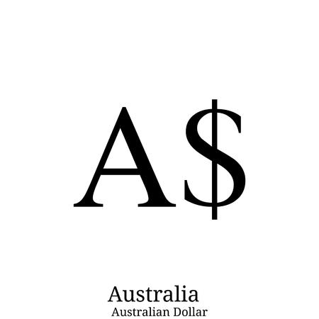 Australian Dollar currency symbol