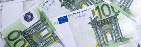 Euro Money. euro cash background. Euro Money Banknotes. Imagens