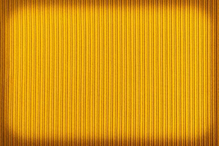 Decorative background yellow color, striped texture vignetting gradient. Wallpaper Art. Design