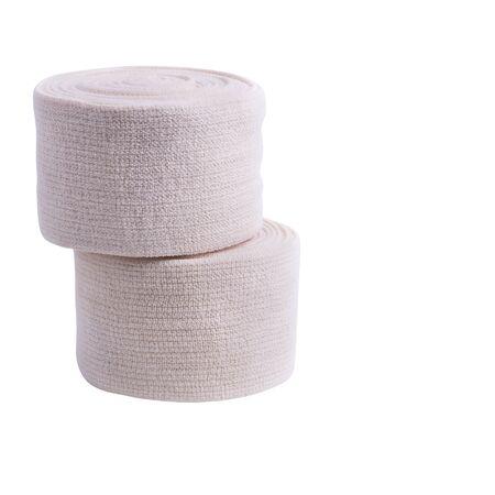 Medical bandage roll isolated on white background Stock Photo - 130593201