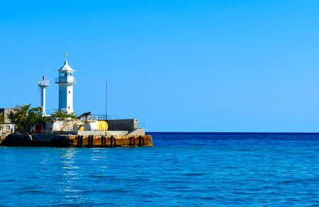 seaway: Odessa lighthouse