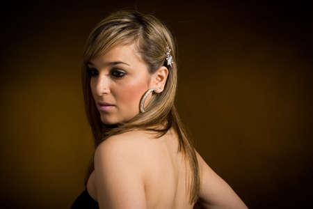 Fashionable young lady. Studio shot Stock Photo - 6875515