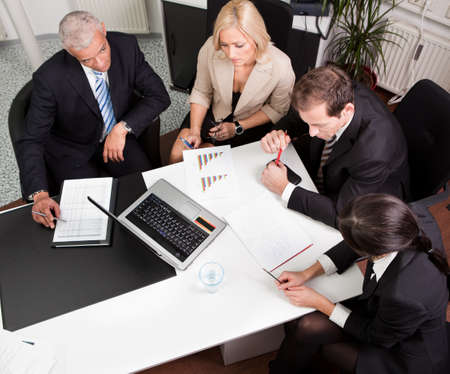 Business team at the meeting Stock Photo - 8628300