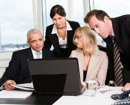 Business team at the meeting Stock Photo - 8628323