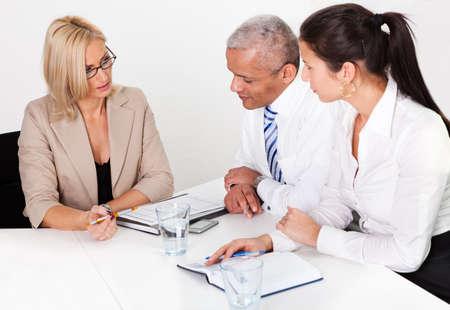 Business Consultation Stock Photo - 8628321