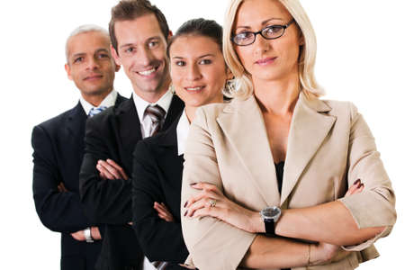 Strong Business Team Stock Photo - 8689445