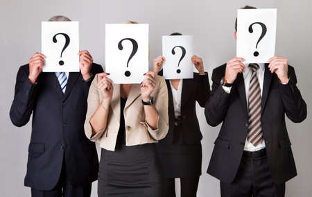 Group of unidentifiable business people Stock Photo - 8853707