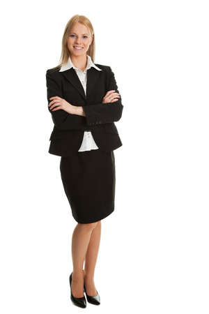 Beautiful sucessful businesswoman photo