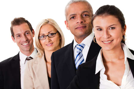 Strong Business Team Stock Photo - 8856761