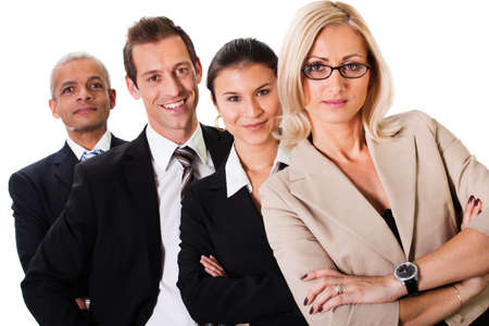 Strong Business Team Stock Photo - 8856766