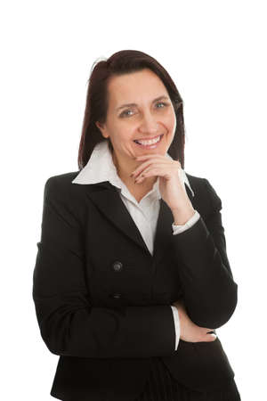 Mature successful businesswoman photo