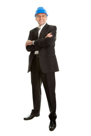Portrait of successfull architect Stock Photo - 9104773