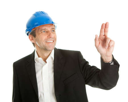 Portrait of successfull architect Stock Photo - 9098590