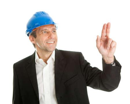 Portrait of successfull architect Stock Photo - 9098590
