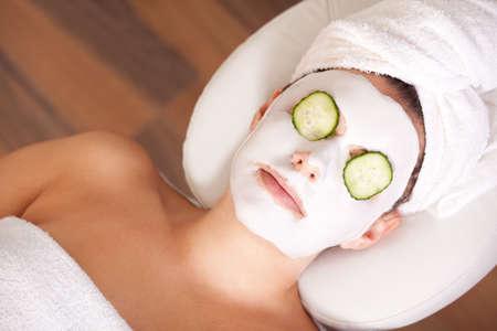eye mask: Facial mask Stock Photo