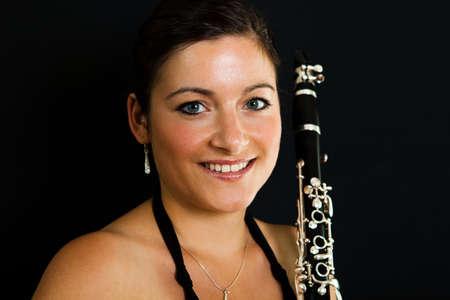 clarinete: Las mujeres alegres Clarinetist