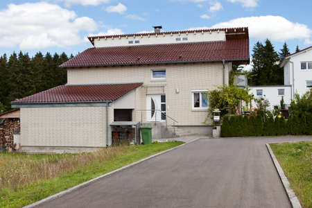 parking space: Nice large execuutive home with a car garage and driveway