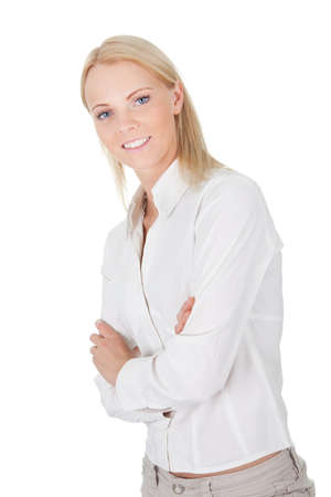 Beautiful successful businesswoman photo