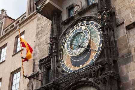 Astronomical Clock  Orloj , Old Town, Prague, Czech Republic, photo