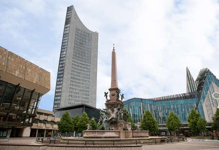 univercity: Photo of new Leipzig Univercity Church, Germany,,,
