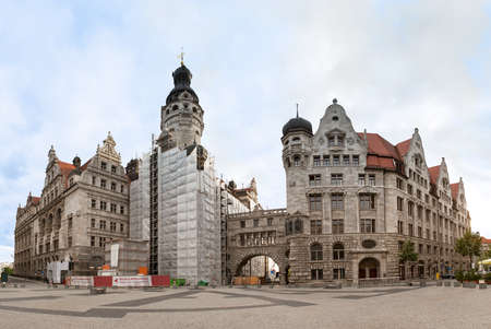 leipzig: Neues Rathaus (New Town Hall) in Leipzig, Germany,,,
