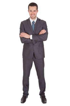 Portrait of successful businessman. Isolated on white Stock Photo - 15000478