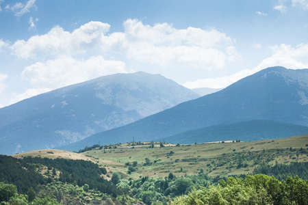 Photo of panoramic mountain view of Pyrenees, Andorra Stock Photo - 15737677