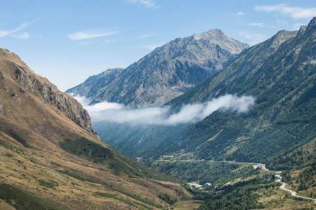 Photo of panoramic mountain view of Pyrenees, Andorra Stock Photo - 15737676